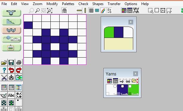 Stitch Designer = mønsterdesign
