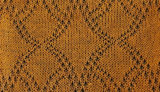 Tråd hulmønster på Silverreed/DesignaKnit