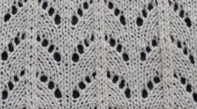 Silverreed hulmønstre i DesignaKnit