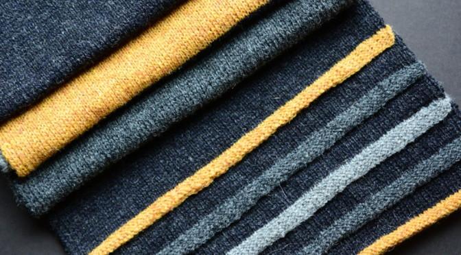 Halstørklæde – sættet er komplet