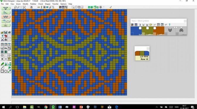 Reducere flere farvet mønster til 2 farver