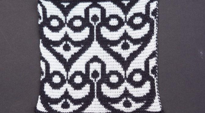 3 nye mønstre til dobbelt Jacquard
