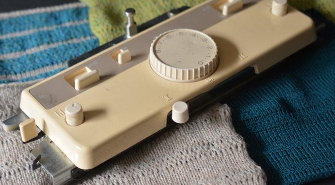 Ribslæden – løs og fast strik