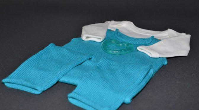 Opskrift til Babybuks i Øko-tex Bomuld