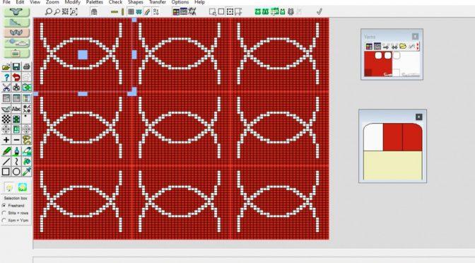 Kompliceret mønster vha spejling