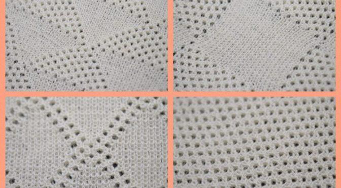 Tuck som fuld rib – 4 nye mønstre